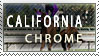 California Chrome Stamp by Faunafay