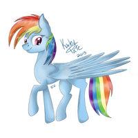 Rainbow Dash by Faunafay