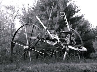 Antique Farm Device by davincipoppalag