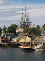 Boothbay Harbor Boatworks by davincipoppalag