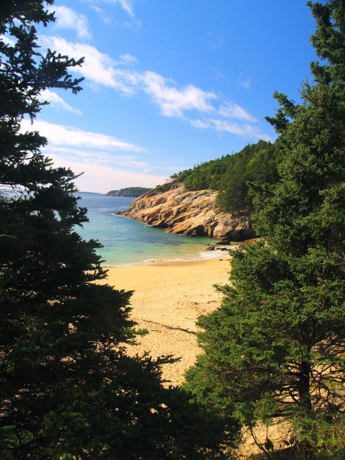 Sand Beach Acadia Park by davincipoppalag