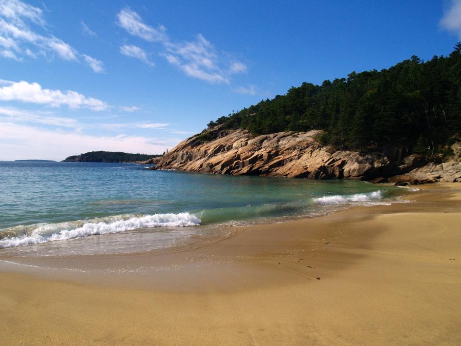 Sand Beach II by davincipoppalag