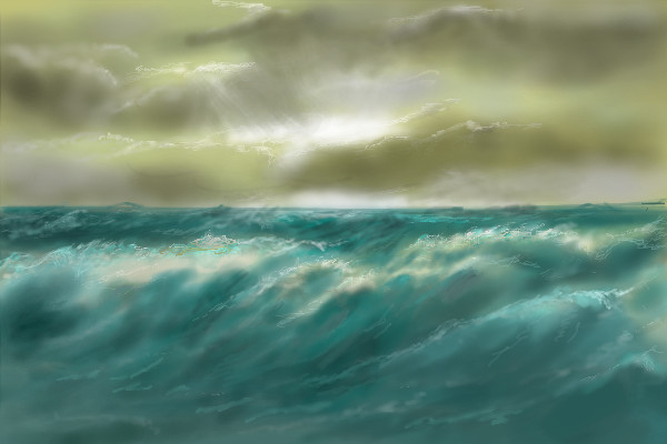 Waning Storm by davincipoppalag