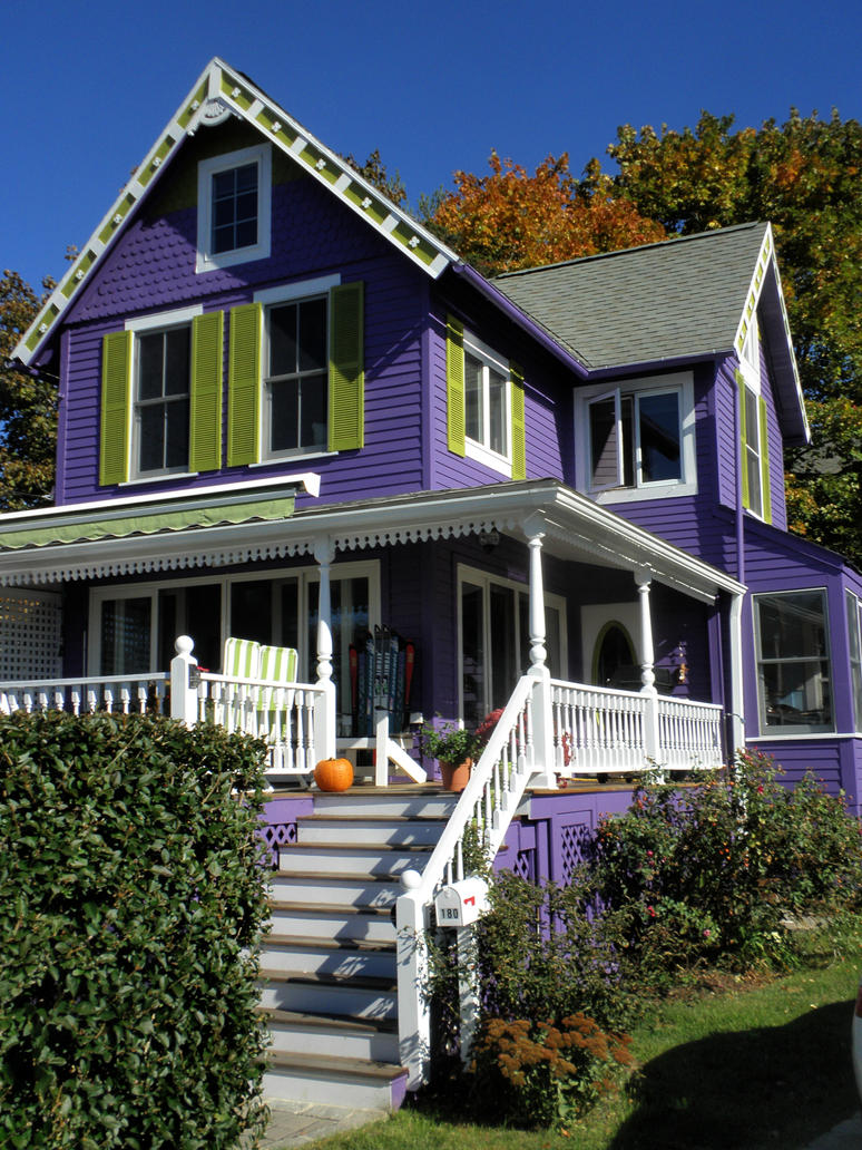 The purple house of guilford by davincipoppalag on deviantart for The guilford house