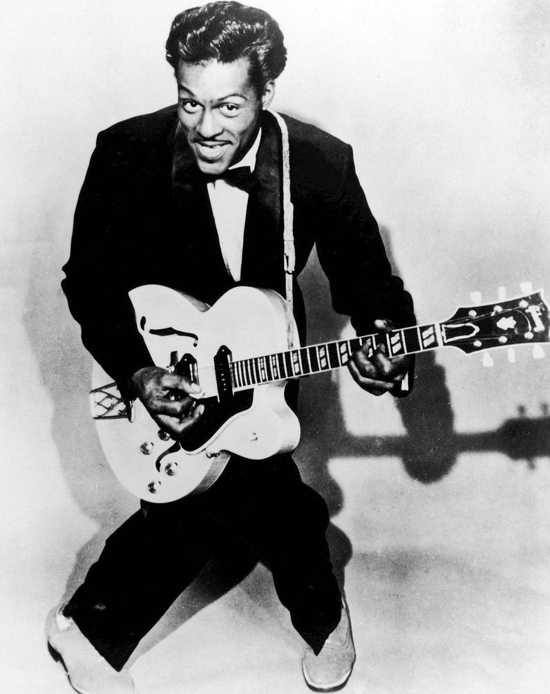 Chuck Berry by davincipoppalag
