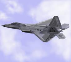 Lockheed Martin F22-A Raptor by davincipoppalag