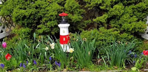 My new garden light by davincipoppalag