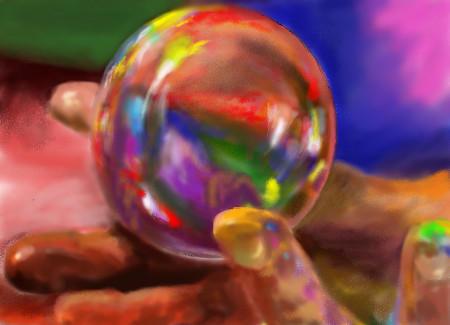 Crystal Ball by davincipoppalag