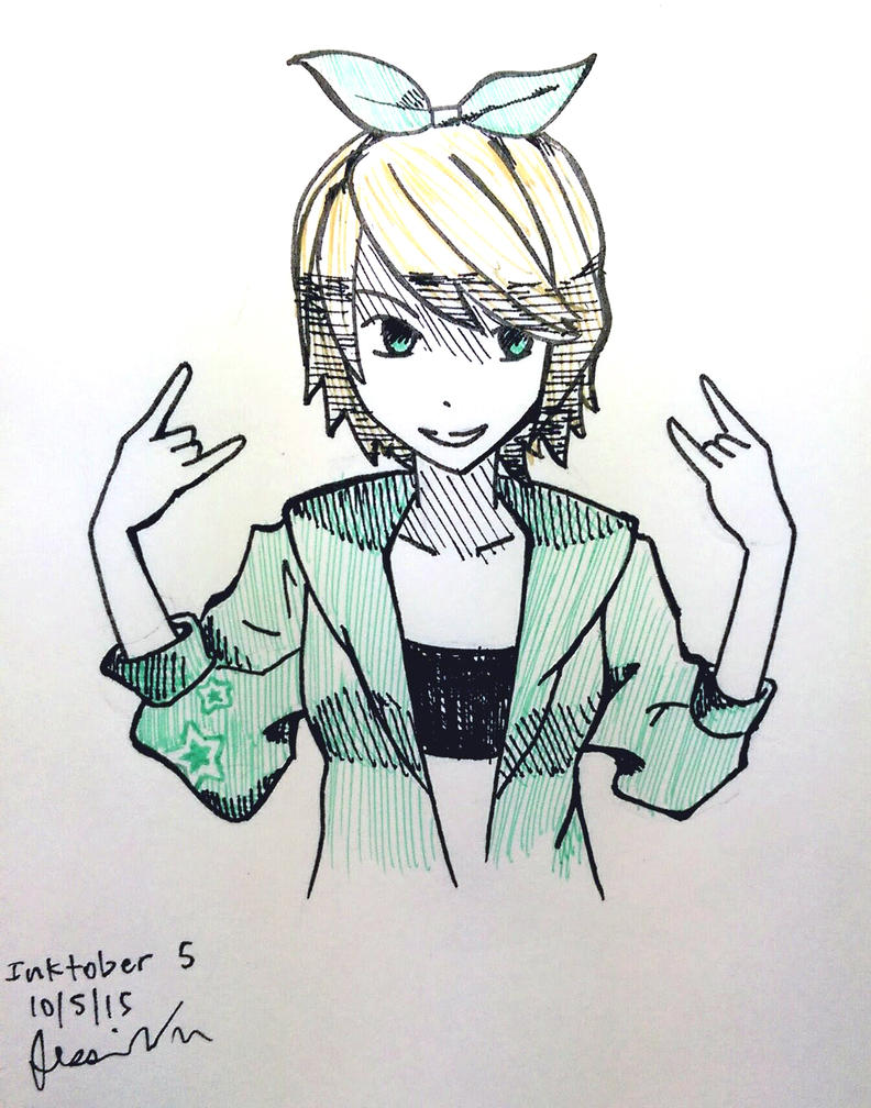 Inktober 5 by lilisys