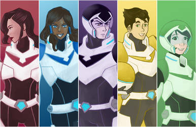 Legend of Korra X Voltron Legendary Defender