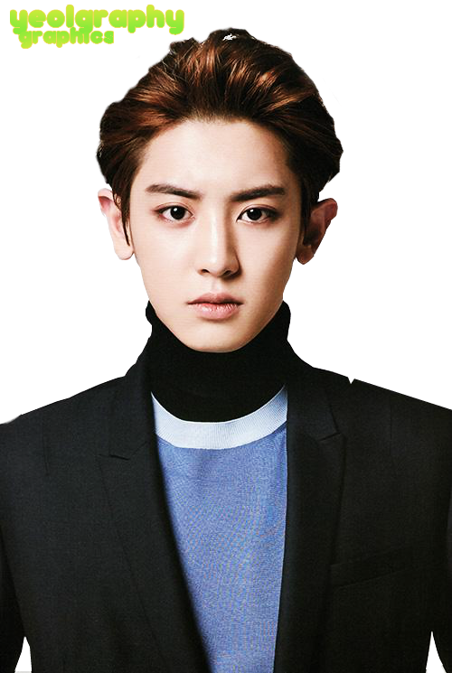 exok chanyeol png render by yeolgraphy by yeolgraphy on