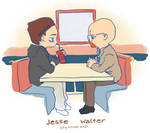 Breaking Bad: Jesse and Walter