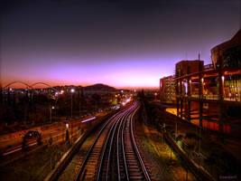 Fields Of Sunset by Kirlian667
