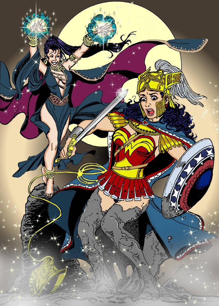 Wonder Woman Vs Circe