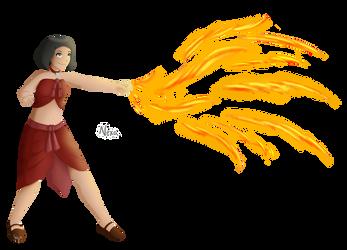 Nexa- Fire nation by laeity