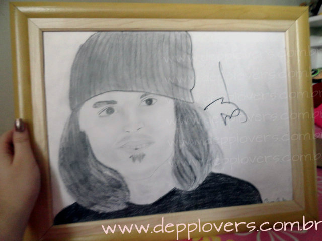 Johnny Depp's Autograph - CamilaD by CamilaD