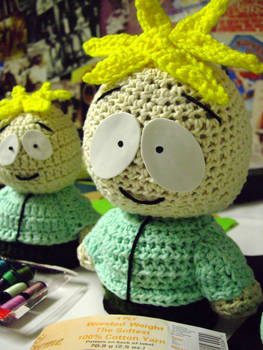 Crocheted Butters 2