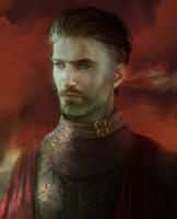 Fantasy portrait (commission) by BellaBergolts