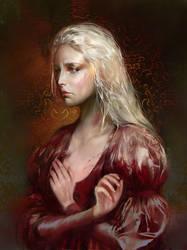 Rhaella Targaryen by BellaBergolts