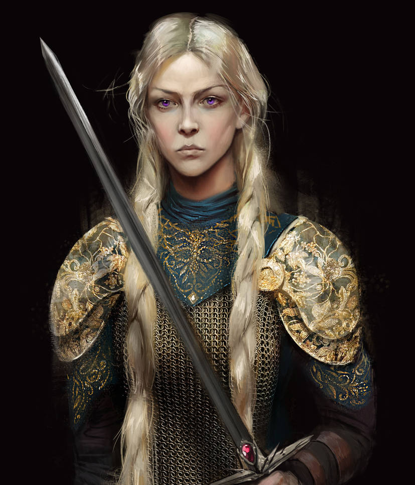 Visenya Targaryen by BellaBergolts