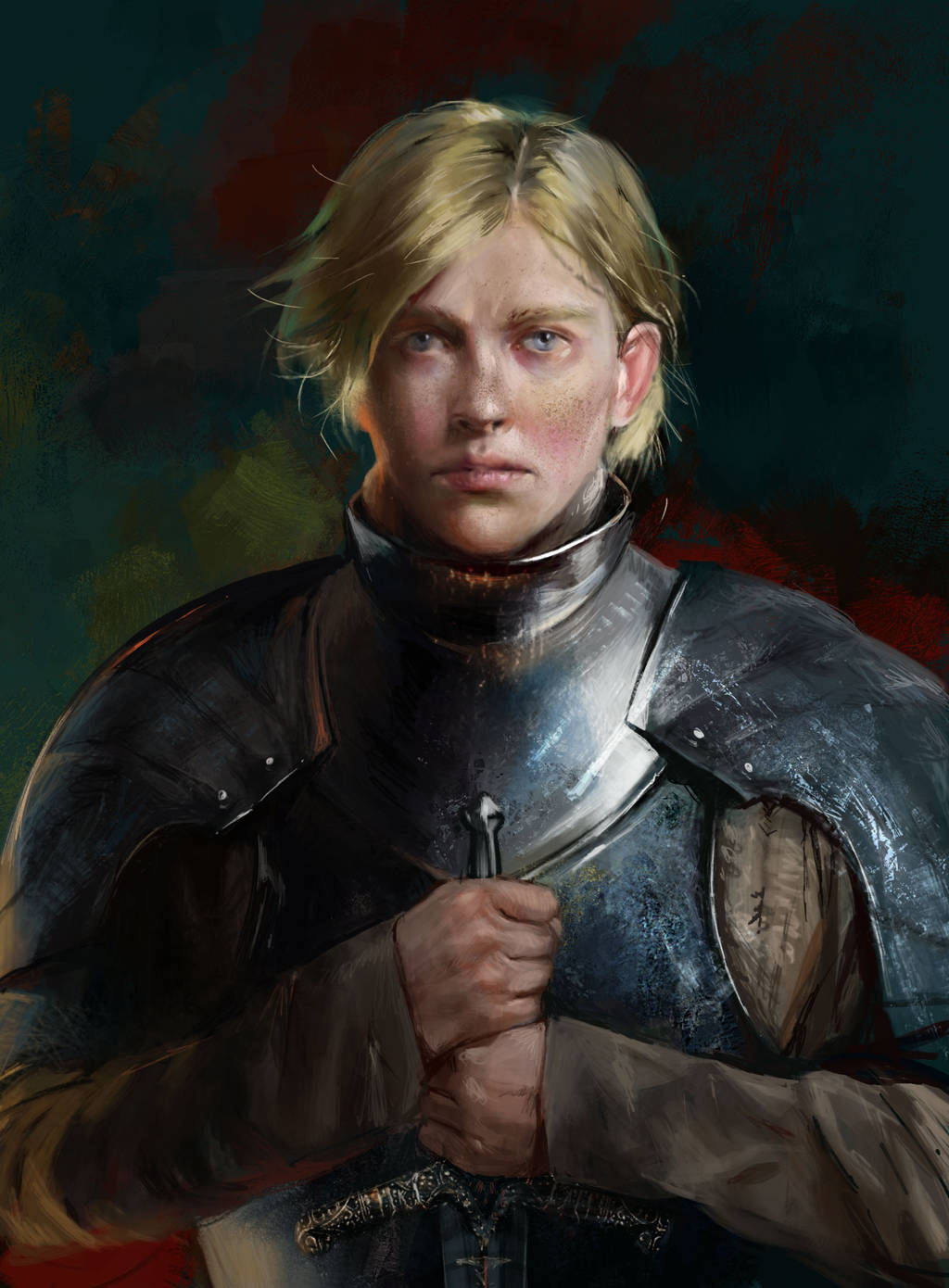 Brienne of Tarth by BellaBergolts