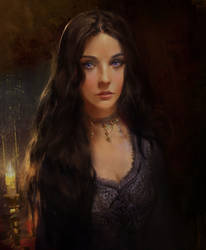 Ashara Dayne by BellaBergolts