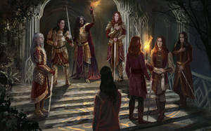 The Oath of Feanor by BellaBergolts