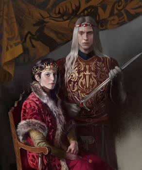 Shireen and Aegon VI