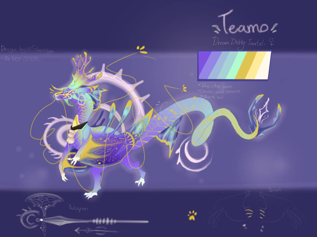 Teamo (Personal Oc) by SilverSkyess on DeviantArt