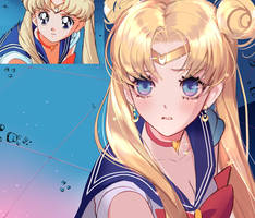 Sailor Moon challenge by Pinkcrowqa