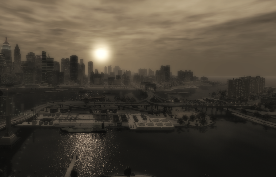View of Liberty City by iGamer