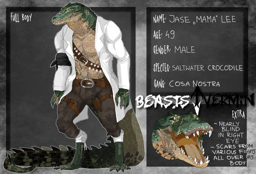 Beasts and Vermin - Mama Croc