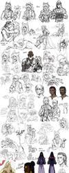 Mostly Mechanismon Sketchdump by lordmegi