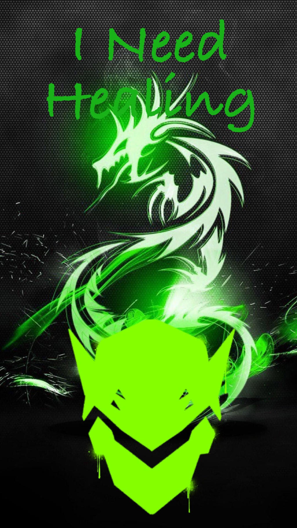 Overwatch Genji Iphone Wallpaper By Shadowburst123 On Deviantart