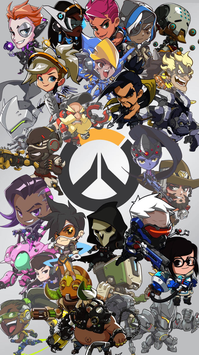 overwatch wallpaper iphone  Overwatch Cute Spray iPhone wallpaper by ShadowBurst123 on DeviantArt
