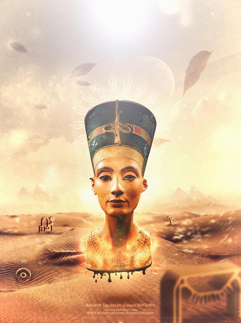 Nefertiti by Magableh on DeviantArt