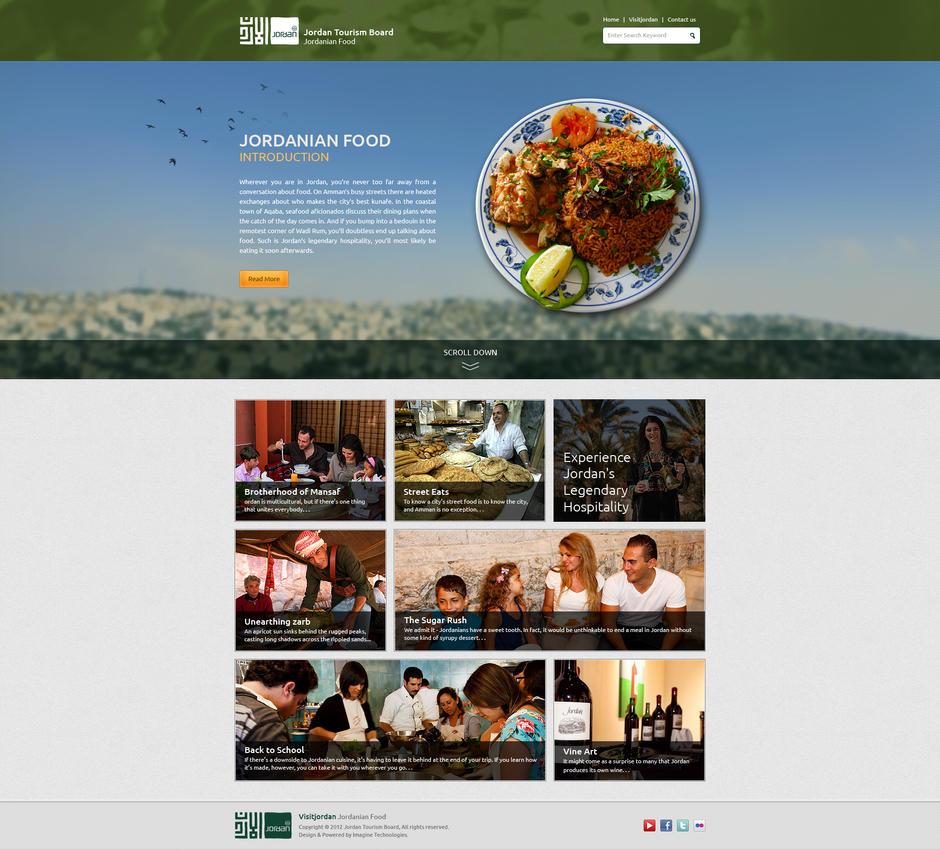 Jordan Tourism Board : Jordanian Food by Magableh