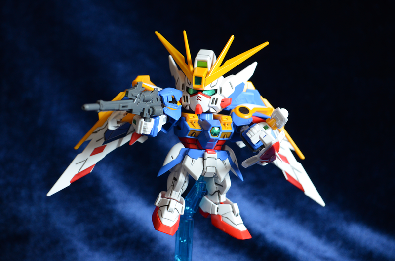 Gunplda Modeling Wing Zero SD by WaywardPhotography