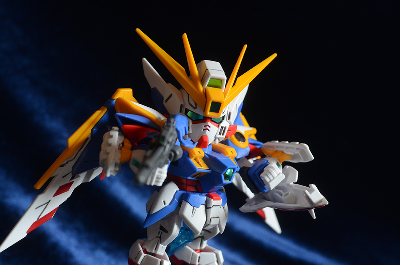 Gunpla Modeling Wing Zero SD Bang by WaywardPhotography