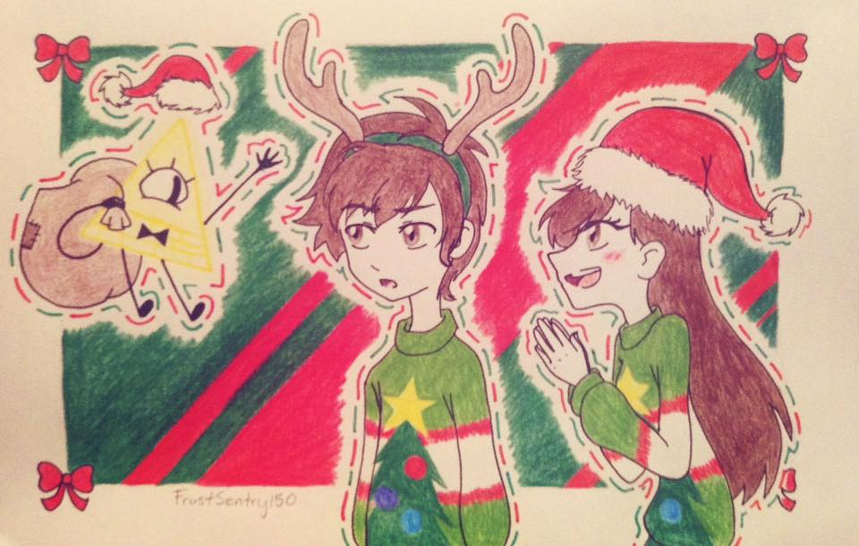 Gravity Falls - Merry Christmas! by FrostSentry150