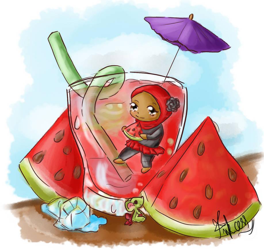 CE: Watermelon by Inkcess