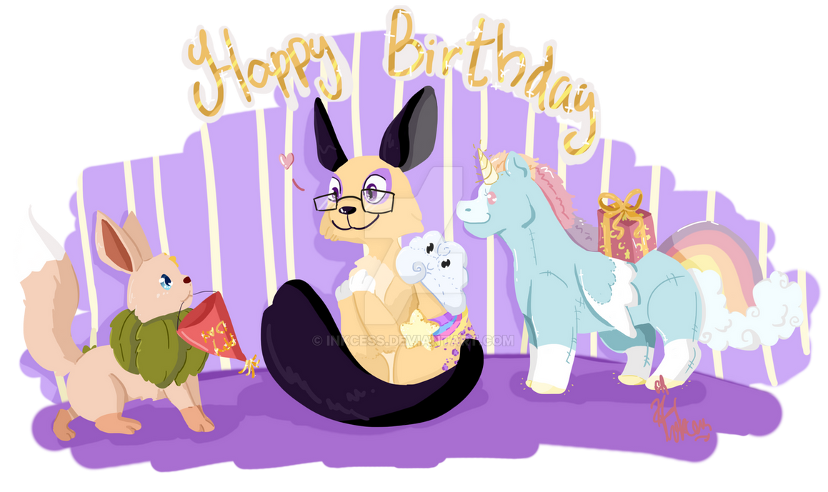 [Gift] Wishing you a Happy Birthday! by Inkcess