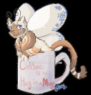 [PC] Hug in a Mug by Inkcess