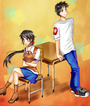 Comm - Kyoko and Maxtaro