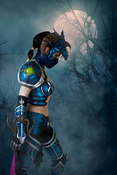 DRAGONSLAYER VAYNE COSPLAY 2 by Priscillascreations