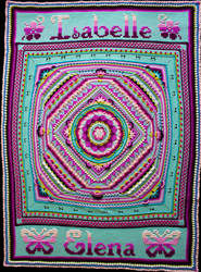 SOPHIE'S UNIVERSE BLANKET - CROCHET by Priscillascreations