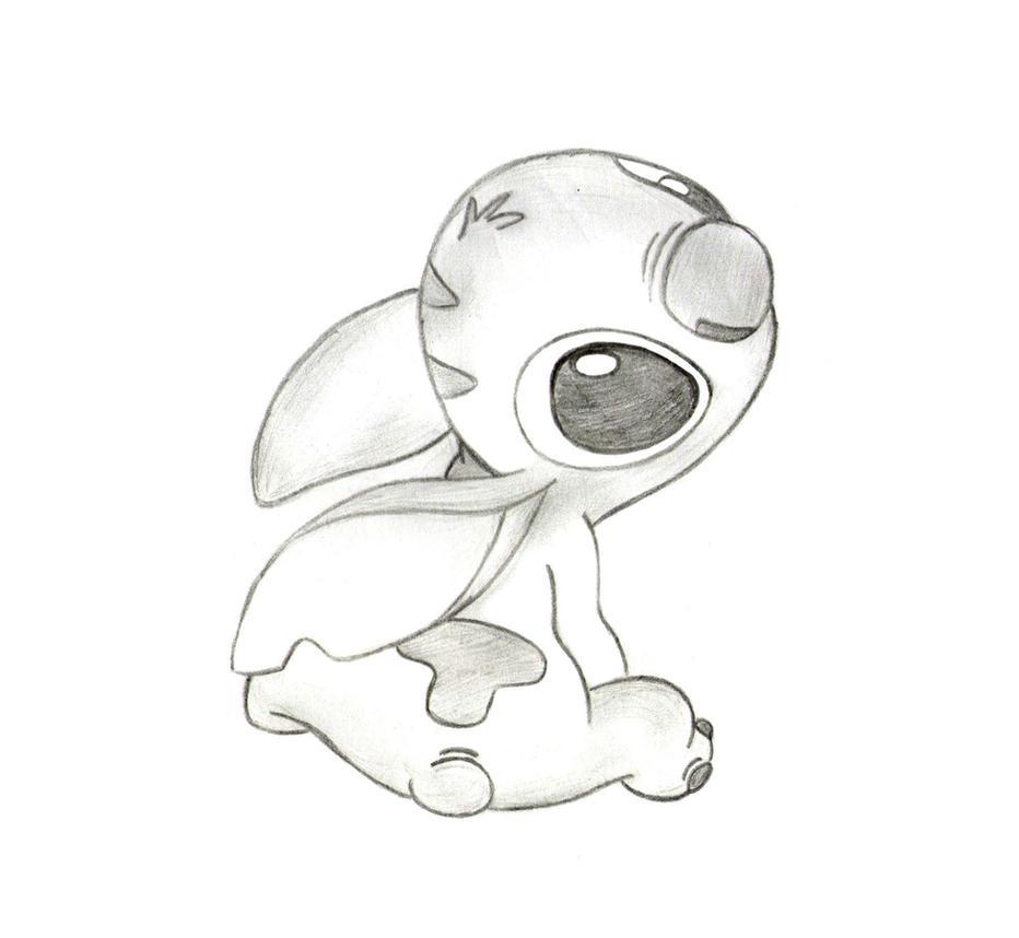 Stitch Sketch By CookieCruise