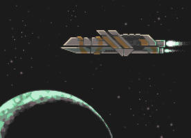 Spaceship by Goodlyay