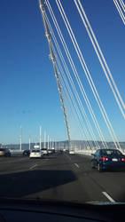 On the new Bay Bridge