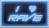 I LOVE RAVE by MightyRaptor